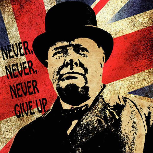 Winston Churchill 2 Poster