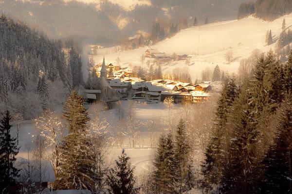 Winter Landscape Salzburger Land Poster