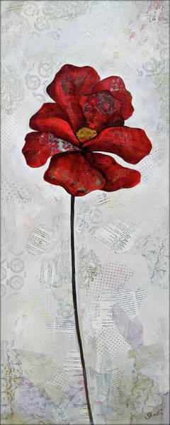 Winter Poppy I Poster