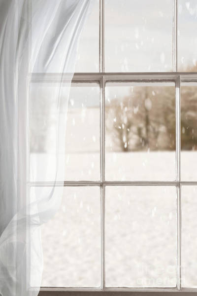 Winter Through A Window Poster