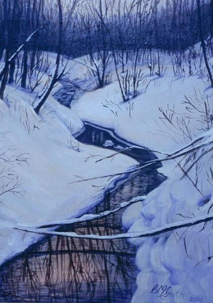 Winter's Stream Poster