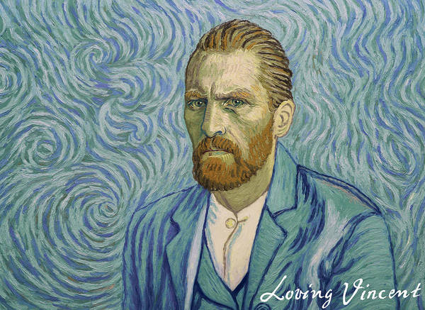 With A Handshake - Your Loving Vincent Poster