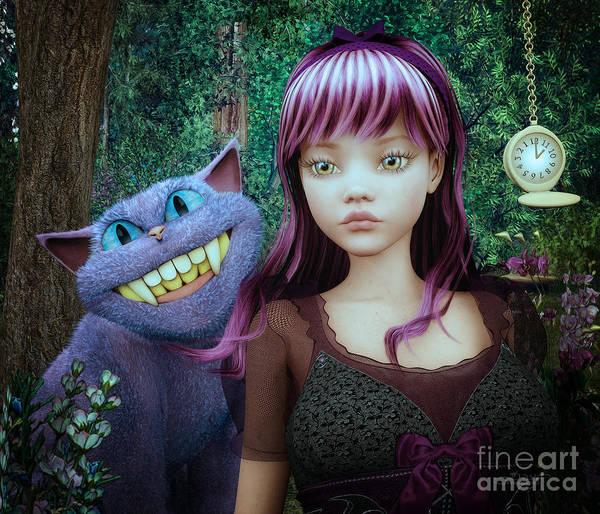 Wonderland Alice Poster