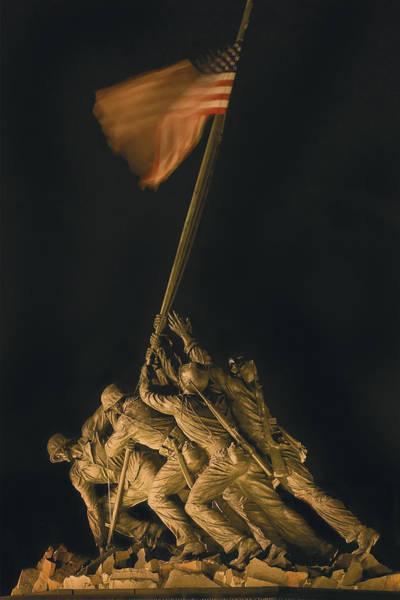 Iwo Jima Remembrance Poster