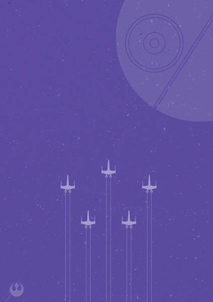 X-wing Attack Poster