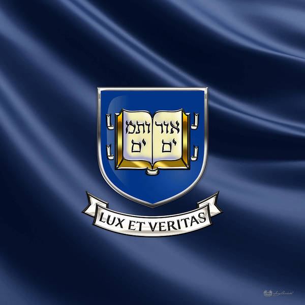 Yale University Coat Of Arms.  Poster