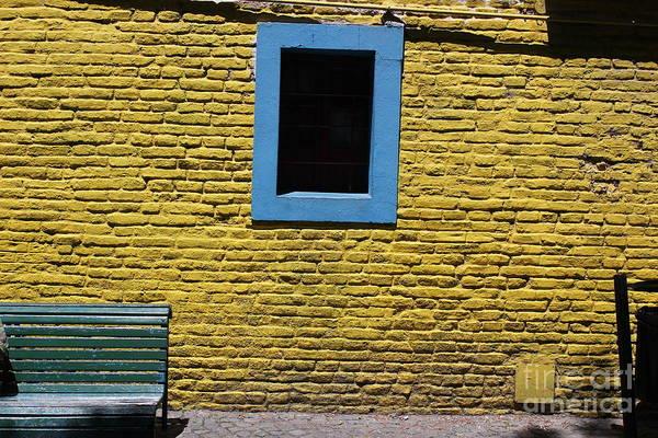 Yellow Brick Window Poster