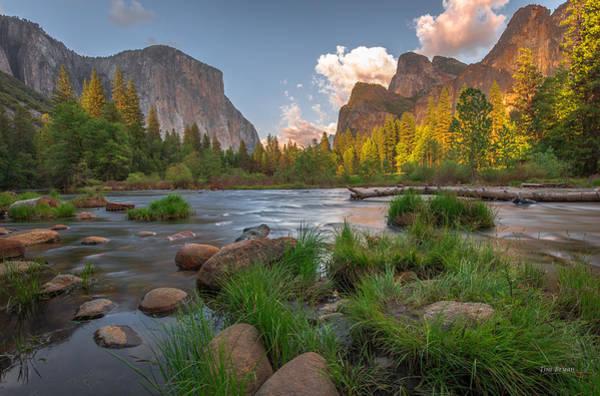 Yosemite Evening Poster