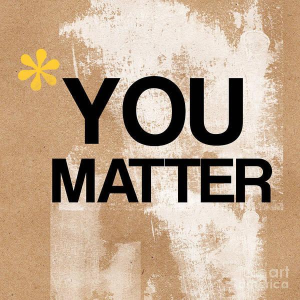 You Matter Poster