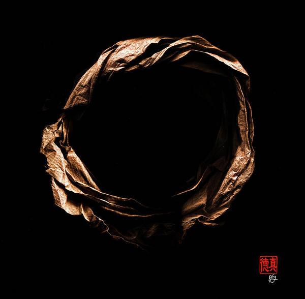 Zen Origami Enso 8 Poster
