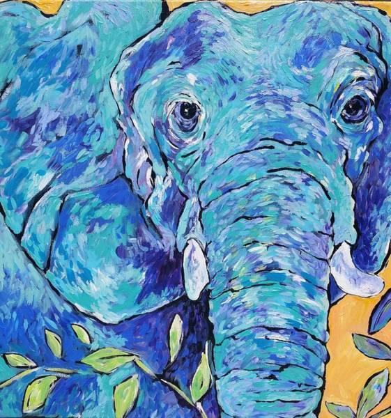 Zoo Elephant  Poster