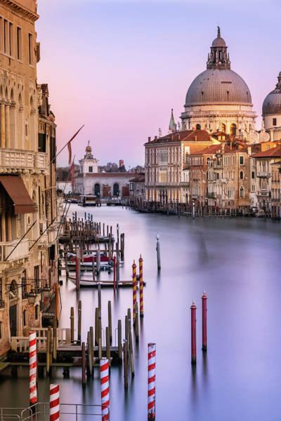 Evening Light In Venice Poster
