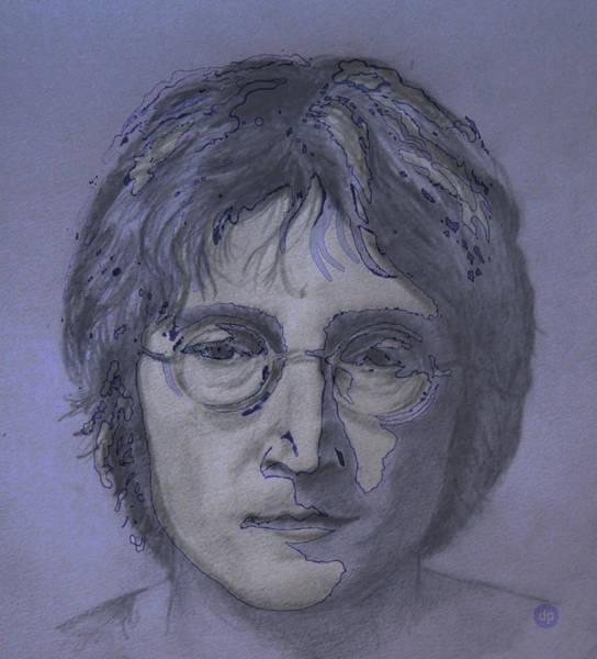 John Lennon Re-imagined Poster