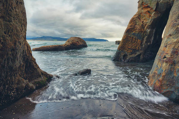 Poster featuring the photograph Oregon Coast by Nicole Young