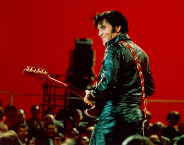 Rock And Roll Musician Elvis Presley Poster