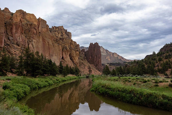 Smith Rock Reflections Poster