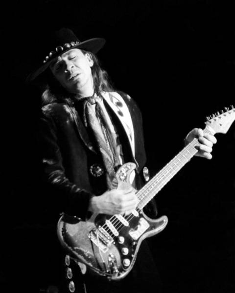 Stevie Ray Vaughn Live Poster