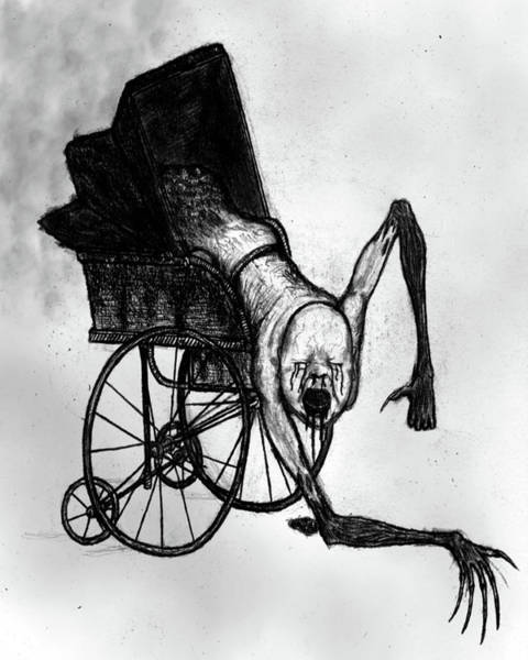 The Nightmare Carriage - Artwork Poster