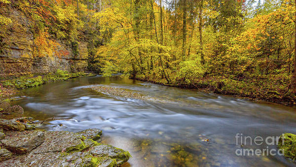 The Wutach Gorge Poster