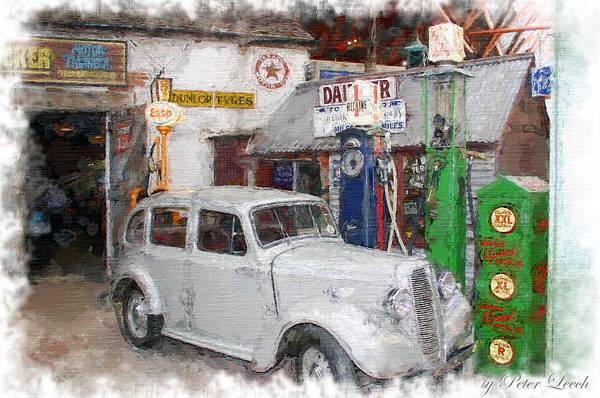 1950s Garage Poster