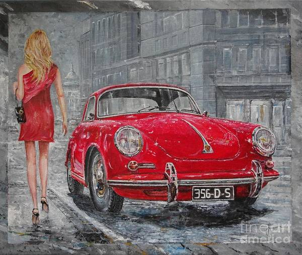 1965 Porsche 356 C Poster