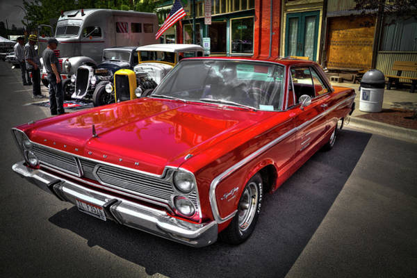 1966 Plymouth Sport Fury Poster
