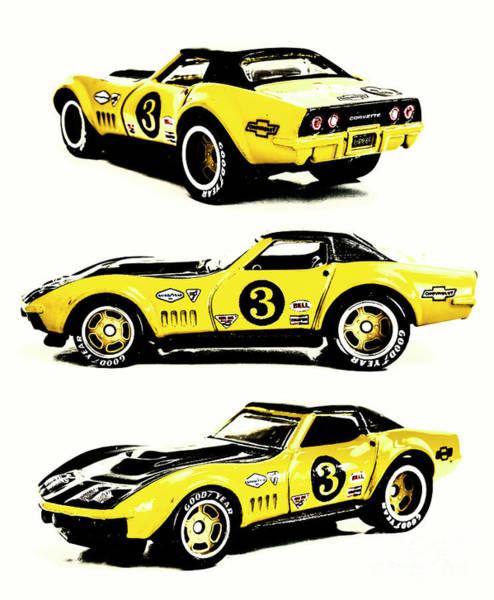 1969 Chevrolet Copo Corvette Poster