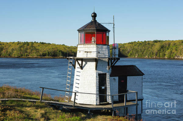 Squirrel Point Light - Arrowsic Island Maine Poster
