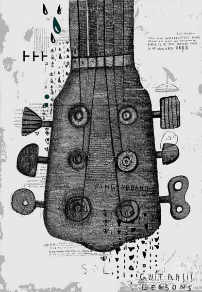Symbolic Image Of Part Of A Musical Poster