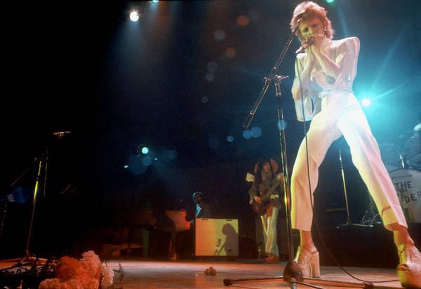 Ziggy Stardust Era Bowie In La Poster