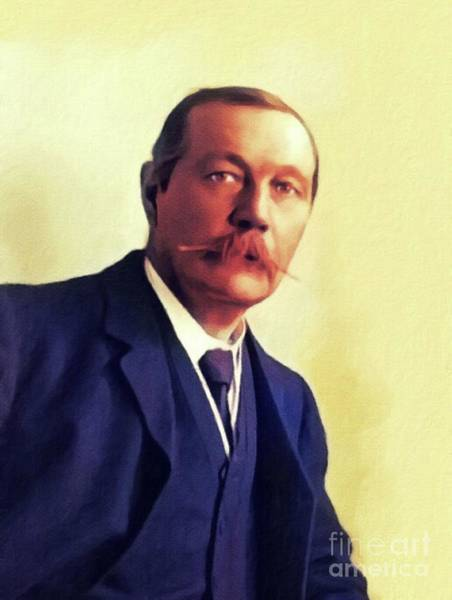 Sir Arthur Conan Doyle, Literary Legend Poster