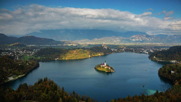 View Of Lake Bled From Mala Osojnica Poster