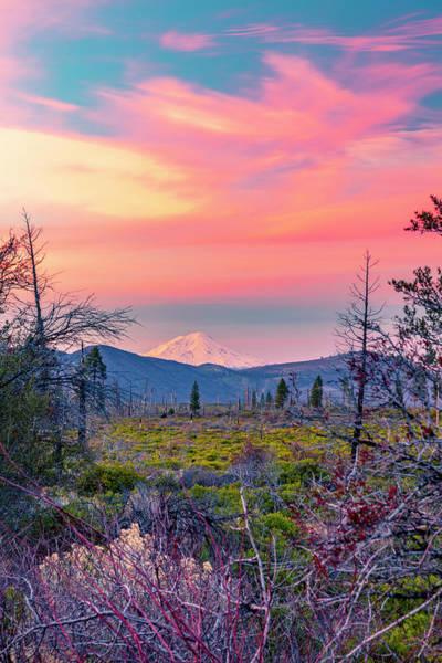 60 Miles To Mount Shasta Poster