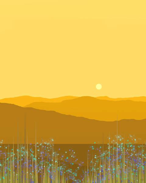 A Mountain Meadow Poster