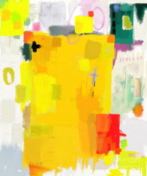 Abstract Composition Which Consists Of Poster