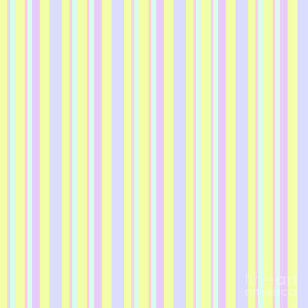 Abstract Fresh Color Lines Background - Dde595 Poster
