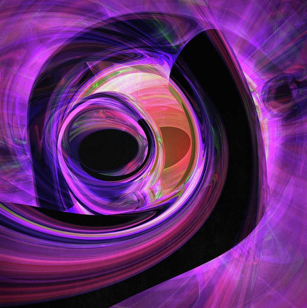 Abstract Rendered Artwork 3 Poster