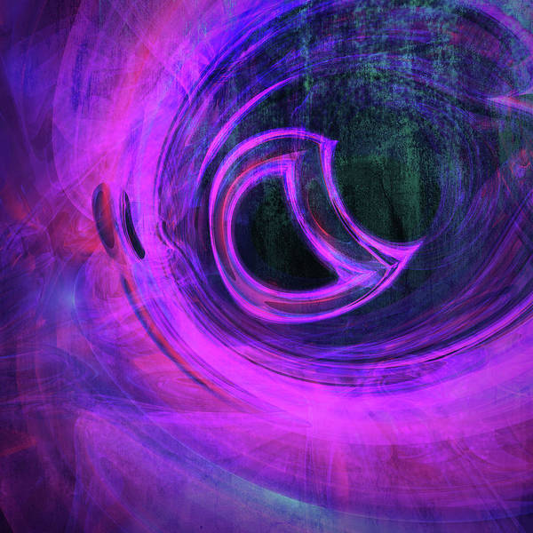 Abstract Rendered Artwork 4 Poster