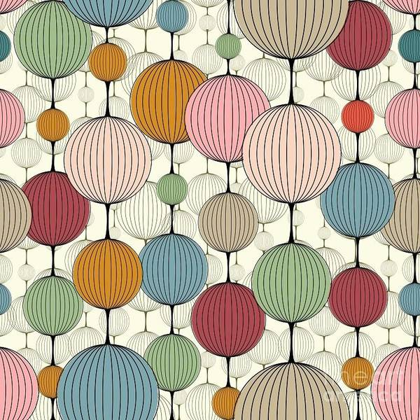 Abstract Seamless Pattern,  Background Poster