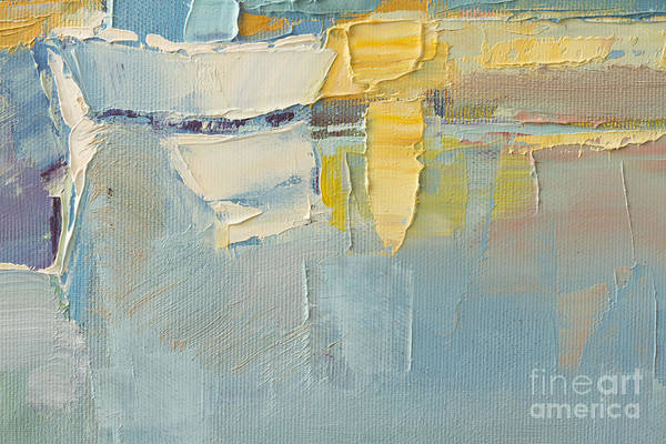 Abstract Wallpaper Of Oil Painting With Poster