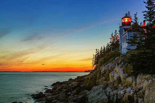 Acadia Sunset Poster