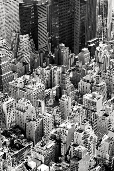 Aerial View Of Manhattan, New York Poster