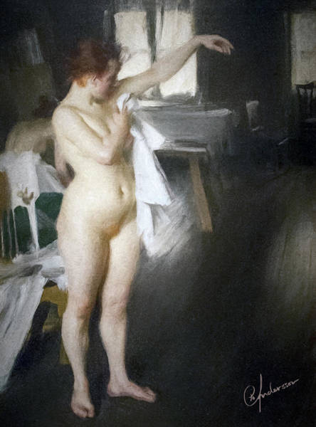 After The Bath Poster