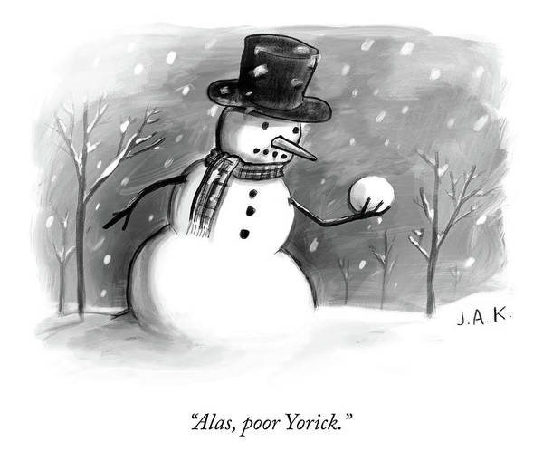 Alas, Poor Yorick Poster