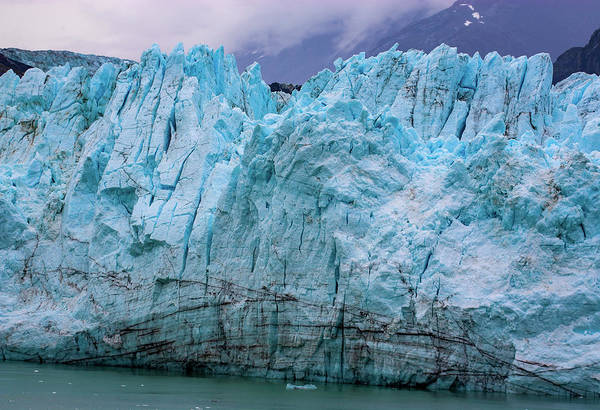 Alaskan Blue Glacier Ice Poster