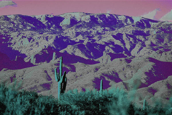 Poster featuring the photograph Alien Colors On Mount Lemmon by Chance Kafka