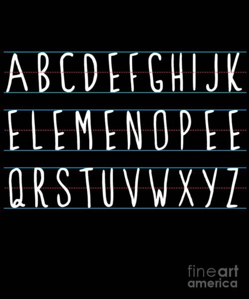Alphabet Elemeno Poster