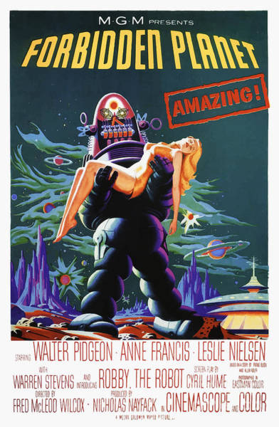 Amazing - Forbidden Planet 1956 Poster
