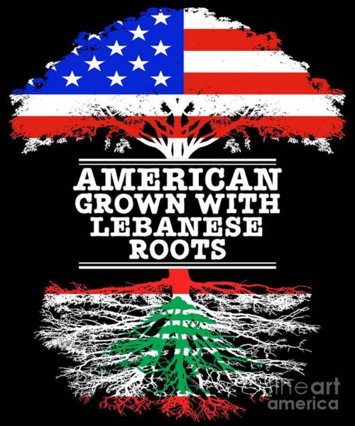 American Grown With Lebanese Roots Poster