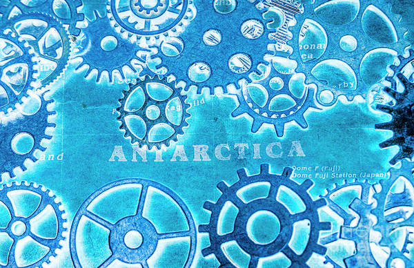 Ancient Antarctic Technology Poster